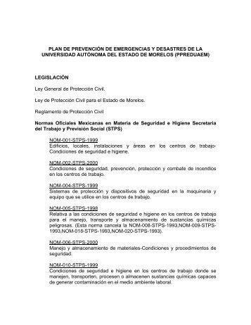 PLAN DE PREVENCIÓN DE EMERGENCIAS Y DESASTRES DE ...
