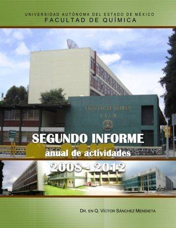 2do. Informe VSM.pdf - Universidad Autónoma del Estado de México