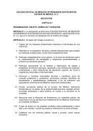 estatutos - Universidad Autónoma del Estado de México
