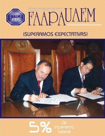 boletín enero febrero 06 - Universidad Autónoma del Estado de ...