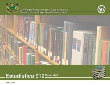 2007 - Universidad Autónoma del Estado de México