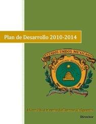 Plan de Desarrollo 2010-2014 - Universidad Autónoma del Estado ...