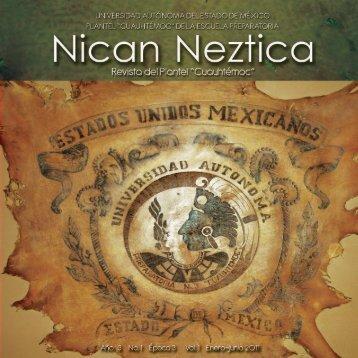 nican neztica - Universidad Autónoma del Estado de México