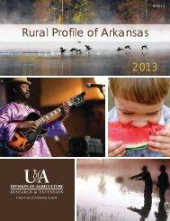 Rural Profile of Arkansas - University of Arkansas Cooperative ...