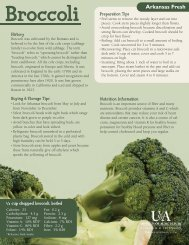 Broccoli - Arkansas Fresh - University of Arkansas Cooperative ...