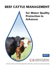 Beef Cattle Management for Water Quality Protection in Arkansas ...