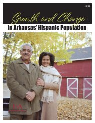 Growth and Change in Arkansas' Hispanic Population - University of ...