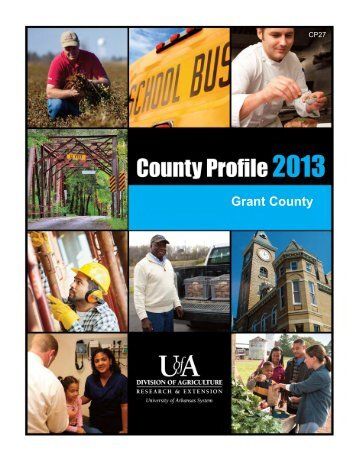 County Profile 2013 - University of Arkansas Cooperative Extension ...