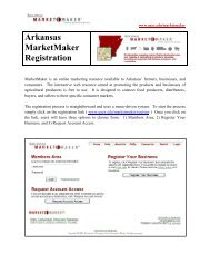How to Register (PDF) - University of Arkansas Cooperative ...