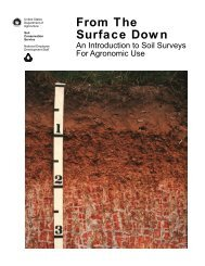 From the Surface Down (PDF) - University of Arkansas Cooperative ...
