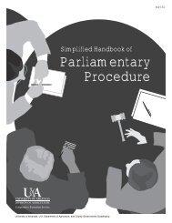 Simplified Handbook of Parliamentary Procedure - MP350