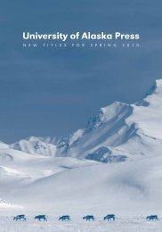 University of Alaska Press - University of Alaska Fairbanks