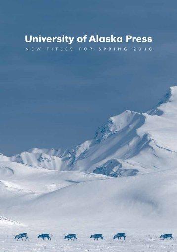 University of Alaska Press - University of Alaska Fairbanks