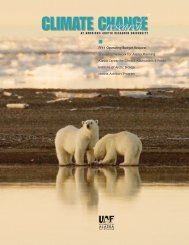 CLIMATE CHANGE - University of Alaska Fairbanks