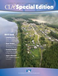 2012 CLA Special Edition Magazine - University of Alaska Fairbanks