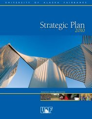 UAF Strategic Plan - University of Alaska Fairbanks