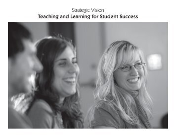 Strategic Vision Teaching and Learning for Student Success