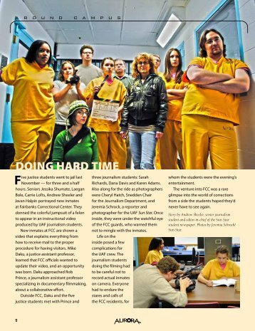 DOING HARD TIME - University of Alaska Fairbanks