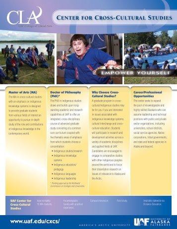 Brochure - University of Alaska Fairbanks