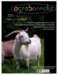 livestock systems • peonies in China soils & typhoons in Taiwan ...