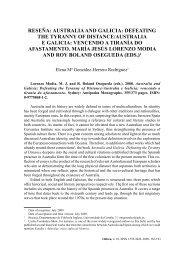 reseña: australia and galicia - Universidad de Almería