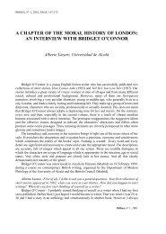 an interview with bridget o''connor - Universidad de Almería