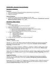 PAC490 (W09) – Discussion Topics and Readings Discussion 1 ...