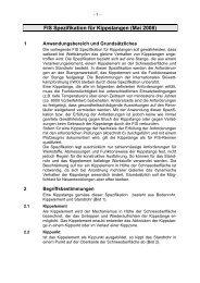 FIS Spezifikation für Kippstangen - International Ski Federation
