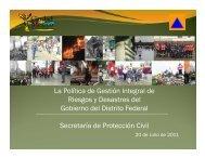 La Política de Gestión Integral de Riesgos y Desastres del ... - UAM