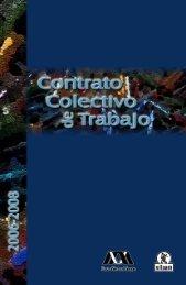 UAM. Contrato Colectivo de Trabajo 2006-2008