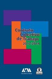 Contrato Colectivo de Trabajo UAM 2012-2014