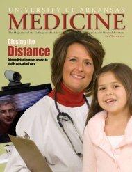 Distance - University of Arkansas for Medical Sciences