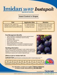 Insect Control in Grapes Imidan 50-WP Instapak - UAP
