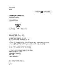 UBG ZIRAM 85W FUNGICIDE Wettable Powder ... - UAP