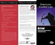 UAP3076 Arrow Brochure.indd