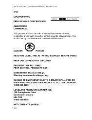 DIAZINON 500 E EMULSIFIABLE CONCENTRATE ... - UAP