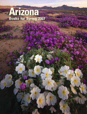Books for Spring 2007 - The University of Arizona Press
