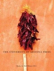 Fall/Winter 2011 - The University of Arizona Press