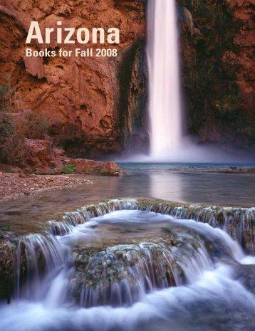 Books for Fall 2008 - The University of Arizona Press