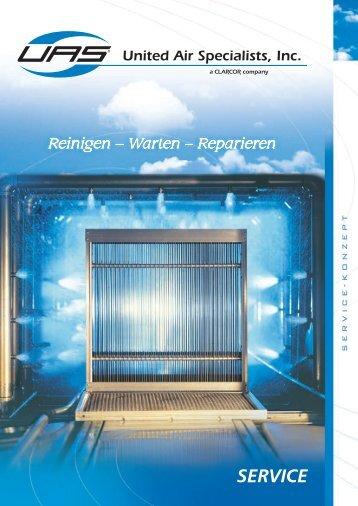 UAS Service-Konzept: Reinigen - Warten - Reparieren (948 KB)