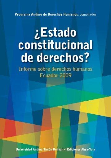 descargar informe - Universidad Andina Simón Bolívar
