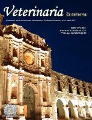 Revista Veterinaria Zacatecas 2005 - Universidad Autónoma de ...