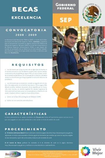 Bec - Subsecretaría de Educación Superior - Secretaría de ...