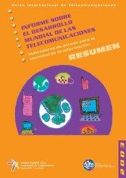 informe sobre el desarrollo mundial de las telecomunicaciones ... - ITU