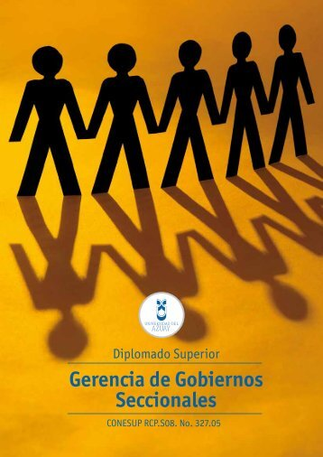 Diplomado Gerencia de Gobiernos Seccionales - Universidad del ...