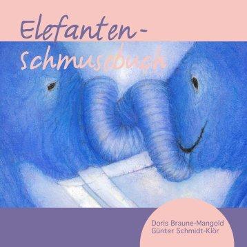 Elefanten - Schmusebuch