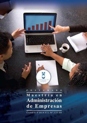 Administración de Empresas - Universidad del Azuay