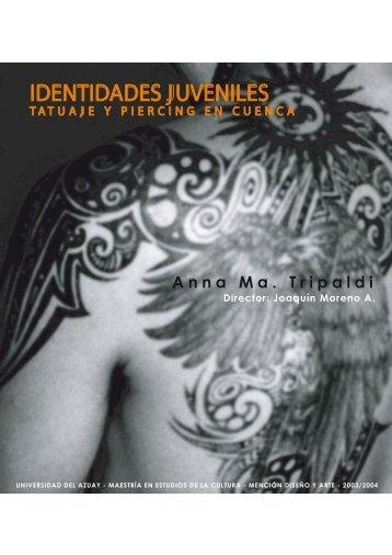 Culturas Juveniles - Tatuaje y Piercing - Universidad del Azuay