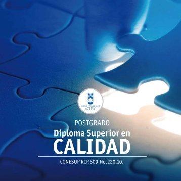 Diplomado Superior en Calidad - Universidad del Azuay