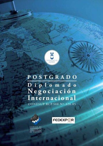 Negociación Internacional - Universidad del Azuay